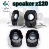 Toko Logitech Z120 Stereo Speaker Putih Lengkap Jawa Barat