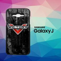 Logo Victory Motorcycles L2428 Casing Custom Hardcase Samsung Galaxy J1 (2016) Case Cover