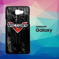 Logo Victory Motorcycles L2428 Casing Custom Hardcase Samsung Galaxy J7 Prime Case Cover