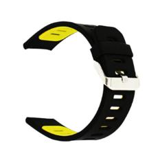 LOLLYPOP RubberBand For Samsung Galaxy Gear S3 - Yellow/Black
