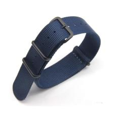 LOLLYPOP Strap Band Nylon Nato For Apple Watch 42mm Series 1/2/3 - Navy