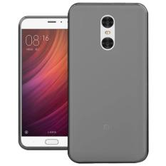 LOLLYPOP Ultrathin TPU Jelly Xiaomi Redmi Note 4x/Redmi Note 4 - Grey/Transparant Hitam/Smoke Softcase Silicone Backcase Backcover Case Hp Casing Handphone