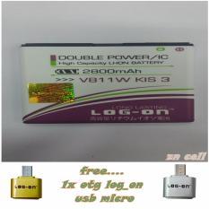 Lon On Baterai ZTE V811W Free Otg Usb Micro