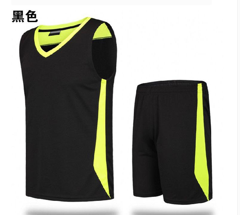 Pusat Jual Beli Longgar Berlari Pria Musim Semi Dan Musim Panas Muda Pakaian Olahraga Hitam Tiongkok