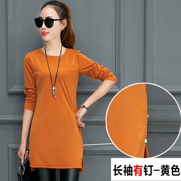 wanita ukuran besar leher bulat t shirt kemeja Source Pakaian