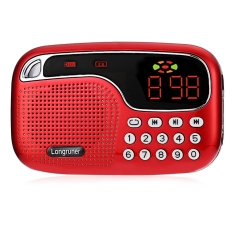 Beli Longruner L 21 Jm2021 Mini Speaker Radio Fm Usb Kartu Tf Memainkan Cakram Audio File Mp3 Player Internasional Secara Angsuran