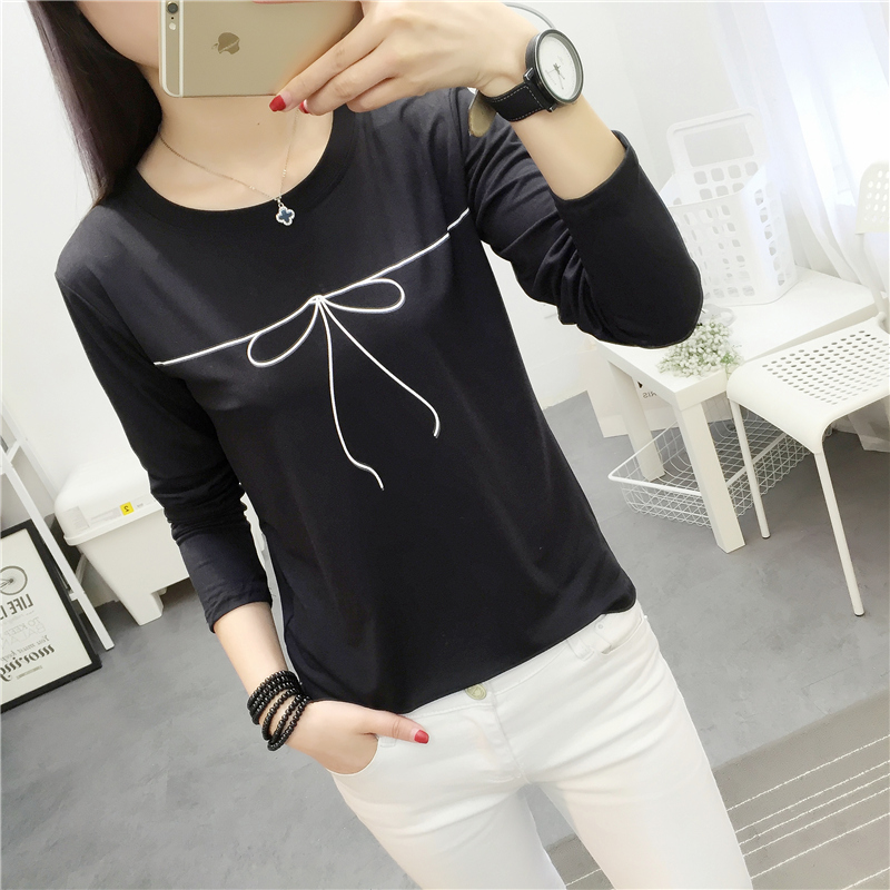 Promo Looesn Korean Style Female High Sch**l Students Heattech Female Top 314 Hitam
