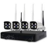 Spek Loosafe 1080 P Wifi Nirkabel 3 T Nvr Kit Cctv 4Ch Security Waterproof Network Outdoor Kamera Tiongkok