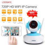 Jual Beli Online Loosafe Ls H6837Wi 960 P 3 6Mm Dengan 64G Tf Kartu Night Vision Wifi Nirkabel Keamanan Cctv Ip Camera