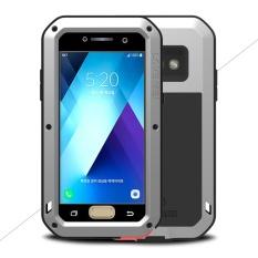Harga Termurah Cinta Mei Kuat Cover Untuk Samsung Galaxy A5 2017 Tahan Guncangan Tahan Jatuh Tahan Debu Ponsel Shell Perak