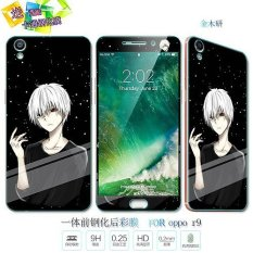 Lovely 3D Painting Front Full Case Cover Color Tempered Glass Case Screen Protector