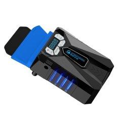 Diskon Usb Mini Vakum Rendah Kebisingan Pendingin Udara Penggalian Bantalan Pendingin Display Lcd Menyesuaikan Kecepatan Kipas Radiator Untuk Notebook Laptop Internasional