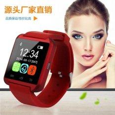 Harga Rendah Langsung Terlaris Ponsel Watch U8 Dewasa Sports Bluetooth Ponsel Smart QQ Pengingat Watch-Intl