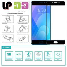 LP Full Tempered Glass Screen Protector for Meizu M6 Note - Hitam