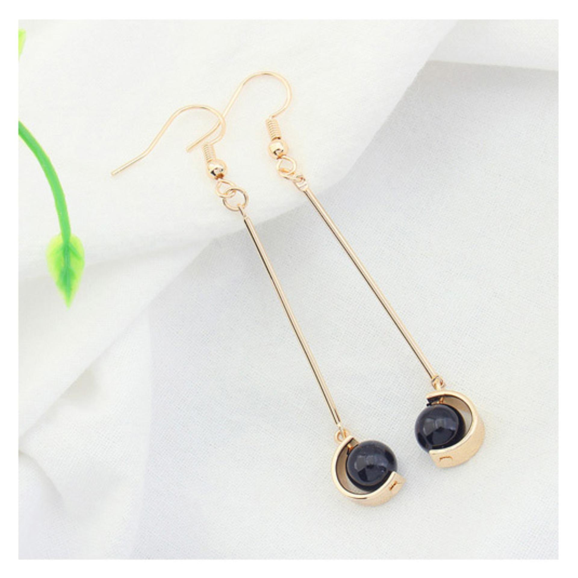 LRC Anting Gantung Fashion Imitation Pearl Decorated Color Matching Design EarringsIDR16200. Rp 16.200