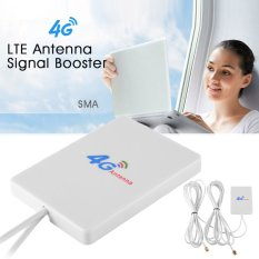 Tips Beli Lte Sma Panel Antena Penguat 28Dbi For 4G 3G Mobile Wifi Router Bi577