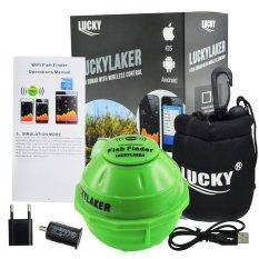 Lucky Ff 916 Gain Express Wifi Fish Finder Display Untuk Iphone Ipad Ios Android Suhu °C °F Segar Laut Garam Sea River Lake Intl Lucky Diskon 40