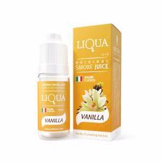 Lucky Liqua Original Smoke Juice - Italian Flavour Premium E-Liquid Refill 10ml 0% Niccotine Rasa Vanilla