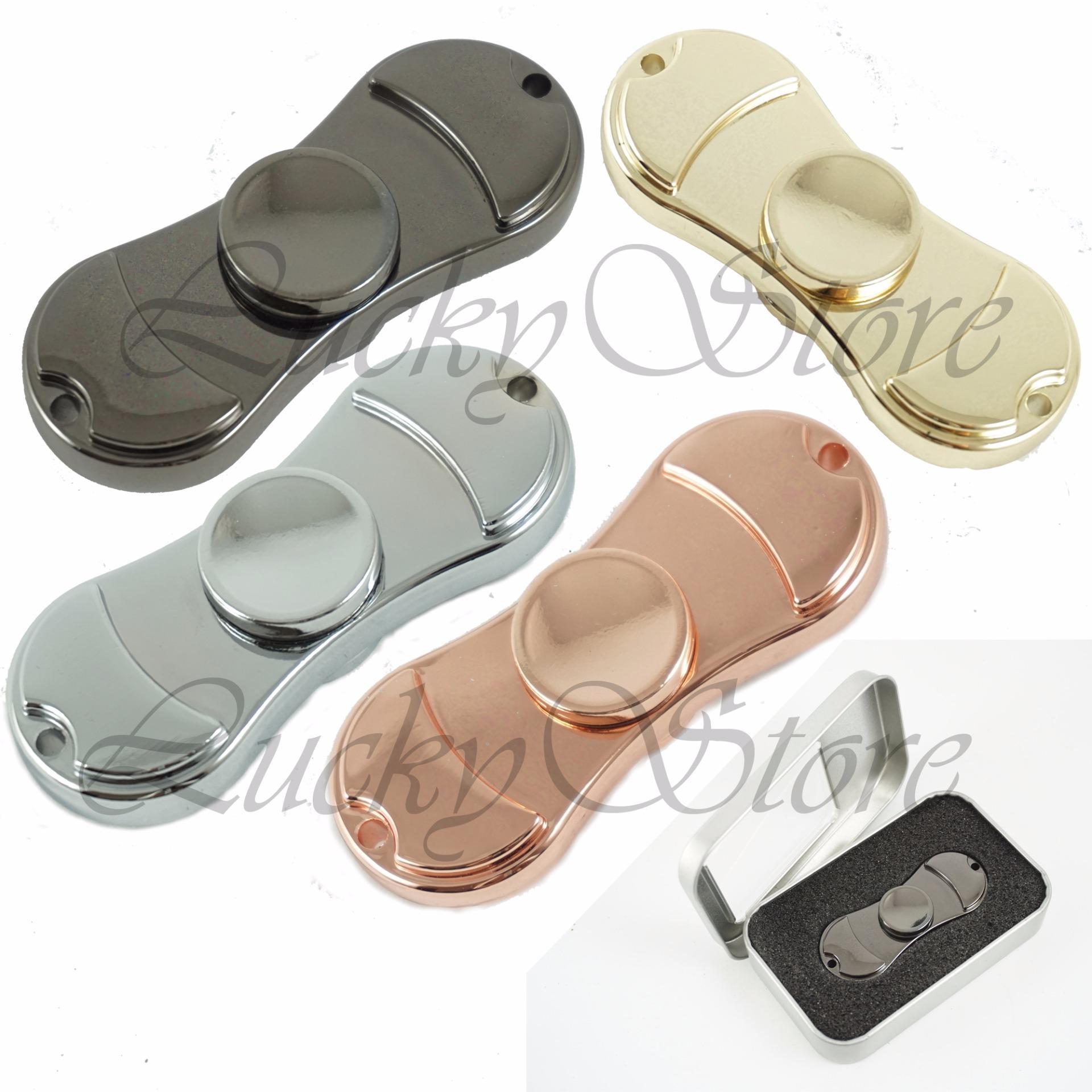 Lucky - METALIC Ceramic Hybrid Fidget Spinner Hand Spinner Hand Toys Focus Games / Mainan Spinner