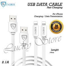 Lucky - New Kabel USB Zagbox Untuk iPhone 6/6s/7 - 1m