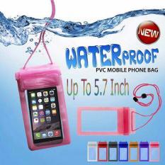 Lucky - Waterproof Bag Jumbo for iPhone & Smartphone up to 5.7 inch Lebih Panjang - 1 Pcs