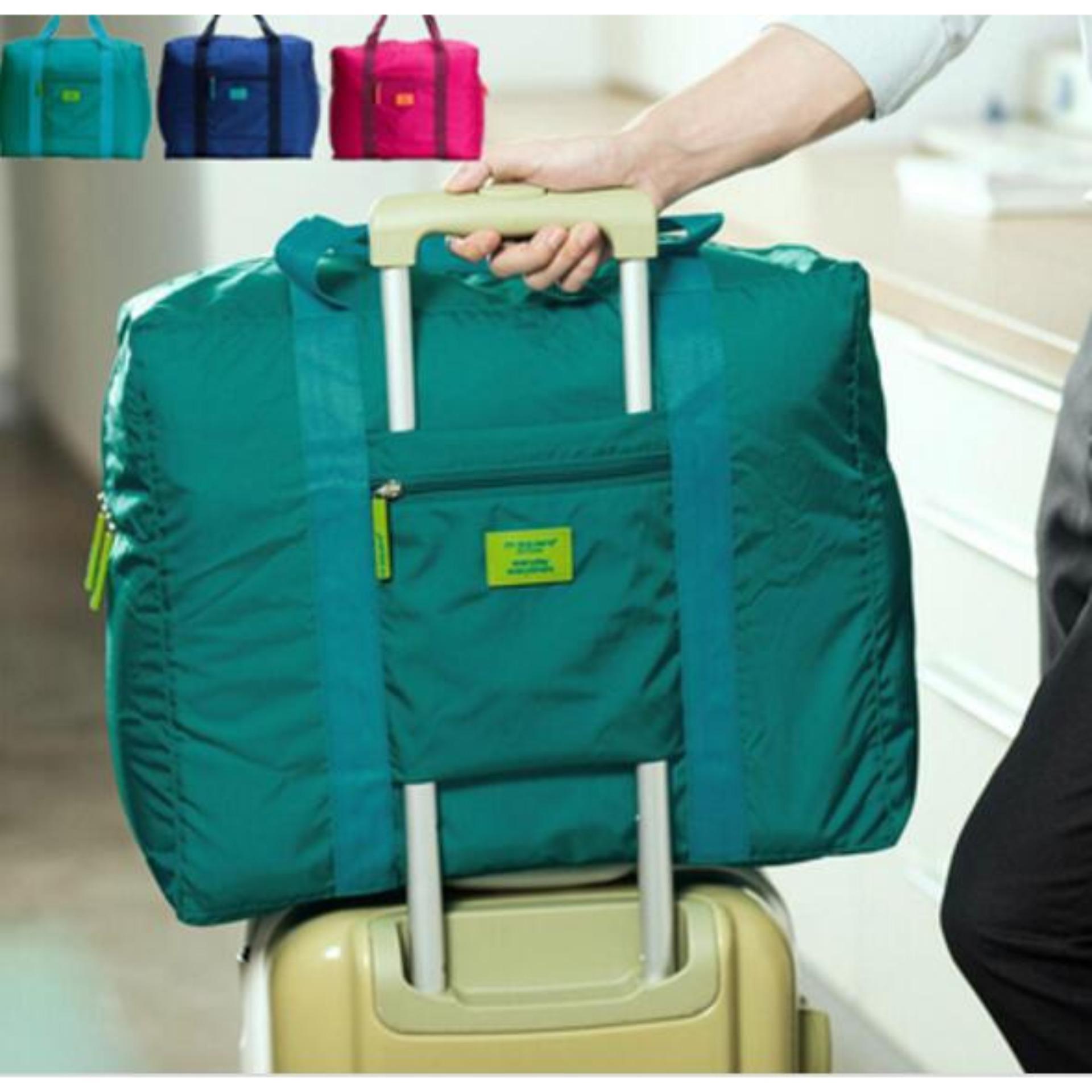Spesifikasi Luggage Foldable Travel Bag Tas Koper Lipat Murah