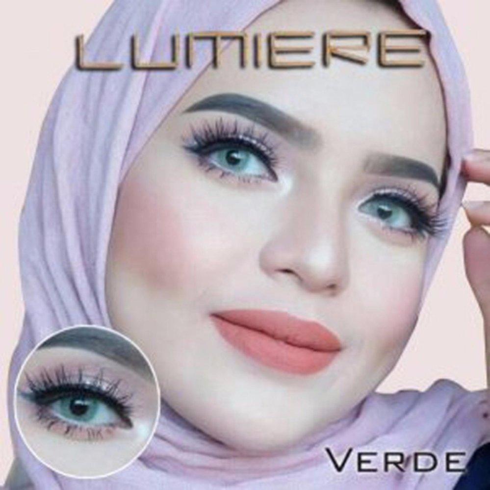 Spesifikasi Lumiere Softlens Verde Free Lenscase Baru