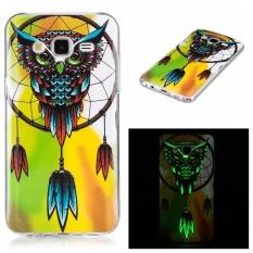 Luminous Phone Kasus untuk SAMSUNG Galaxy J5 2015 J500F SM-J500H Duos SM-J500F/DS Soft TPU Silicone IMD Glossy Covers Pola Seni-Intl