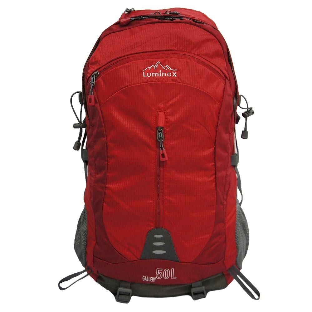 Review Tentang Luminox Tas Hiking Backpack Ransel Travel Outdoor Carrier 5029 50 Liter Gratis Rain Cover Merah