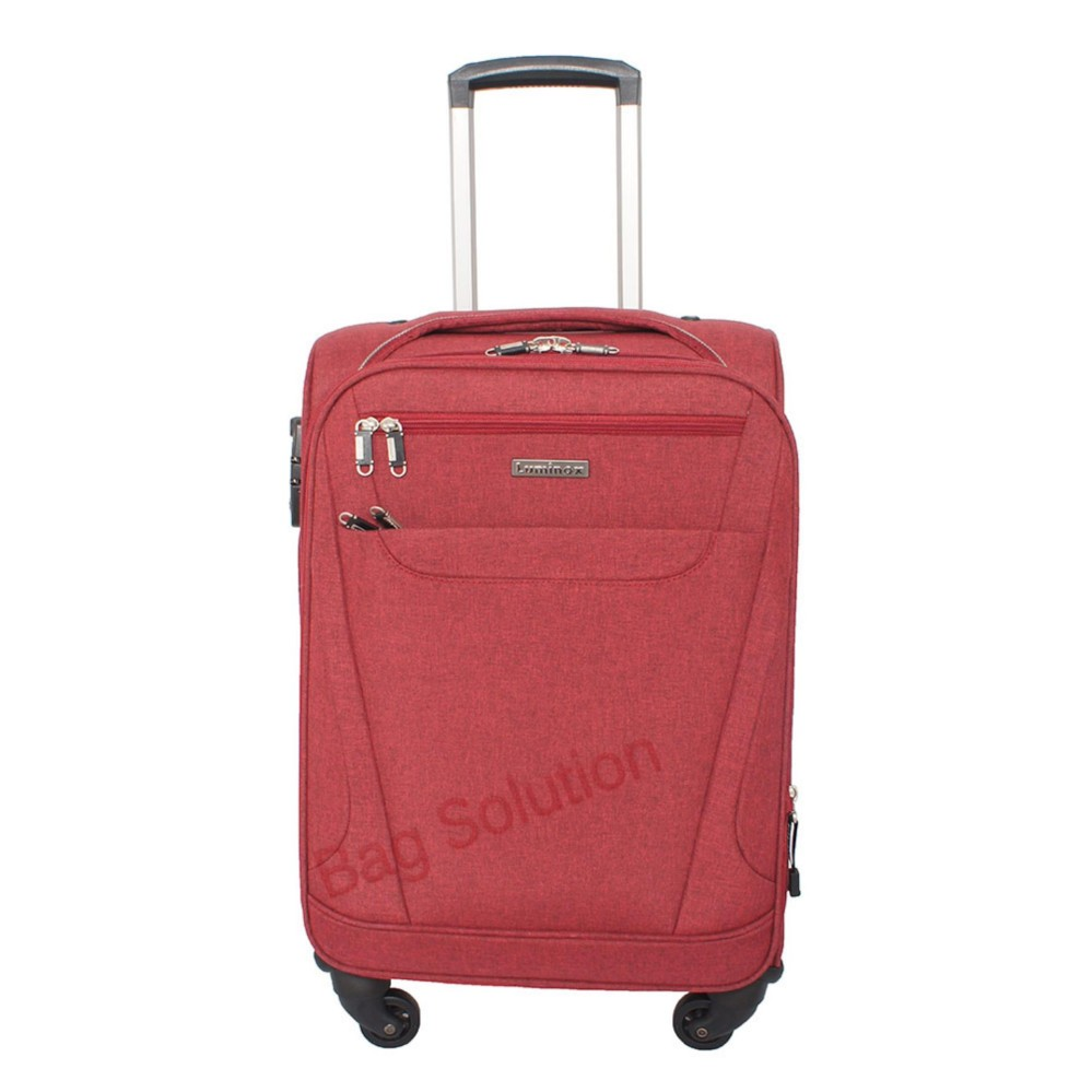 Spesifikasi Luminox Tas Koper Softcase 4 Roda Putar Kunci Tsa 7736 Size 20 Inch Merah Terbaik