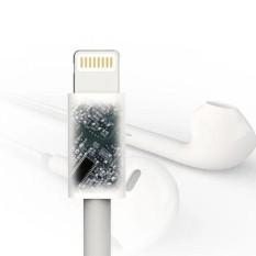 Lumiparty Lightning untuk 3.5 Mm Headphone Mendongkrak Kabel Adaptor Audio untuk iPhone 5/6/