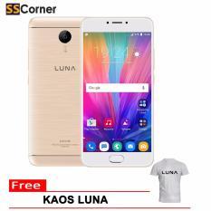 Jual Luna G55 Smartphone 5 5 Lte Ram 4Gb Rom 32 Gb Gold Di North Sumatra