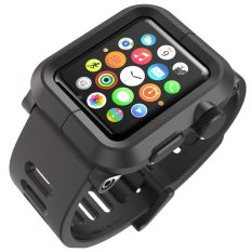 Harga Lunatik Epik Pc Silicone Band For Apple Watch 42Mm Black Terbaik