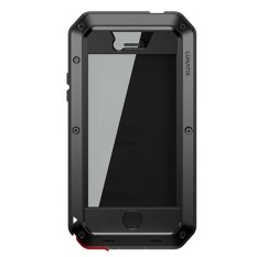 Lunatik Taktik Extreme Hardcase with Gorilla Glass for iPhone 4/4s - Hitam
