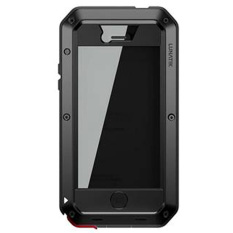 Lunatik Taktik - iPhone 4 / 4s Extreme Hardcase with Gorilla Glass - Hitam