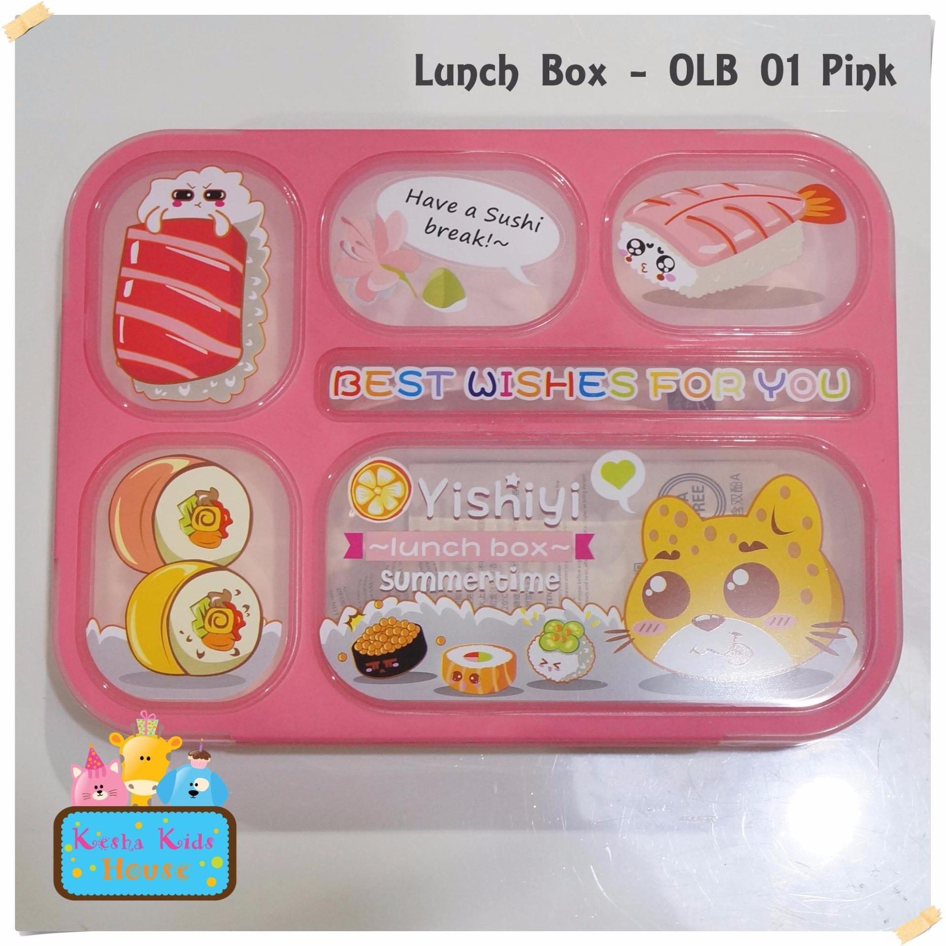 Beli Lunch Box Yooyee 589 Kotak Tempat Makan Anak 6 Sekat Lengkap