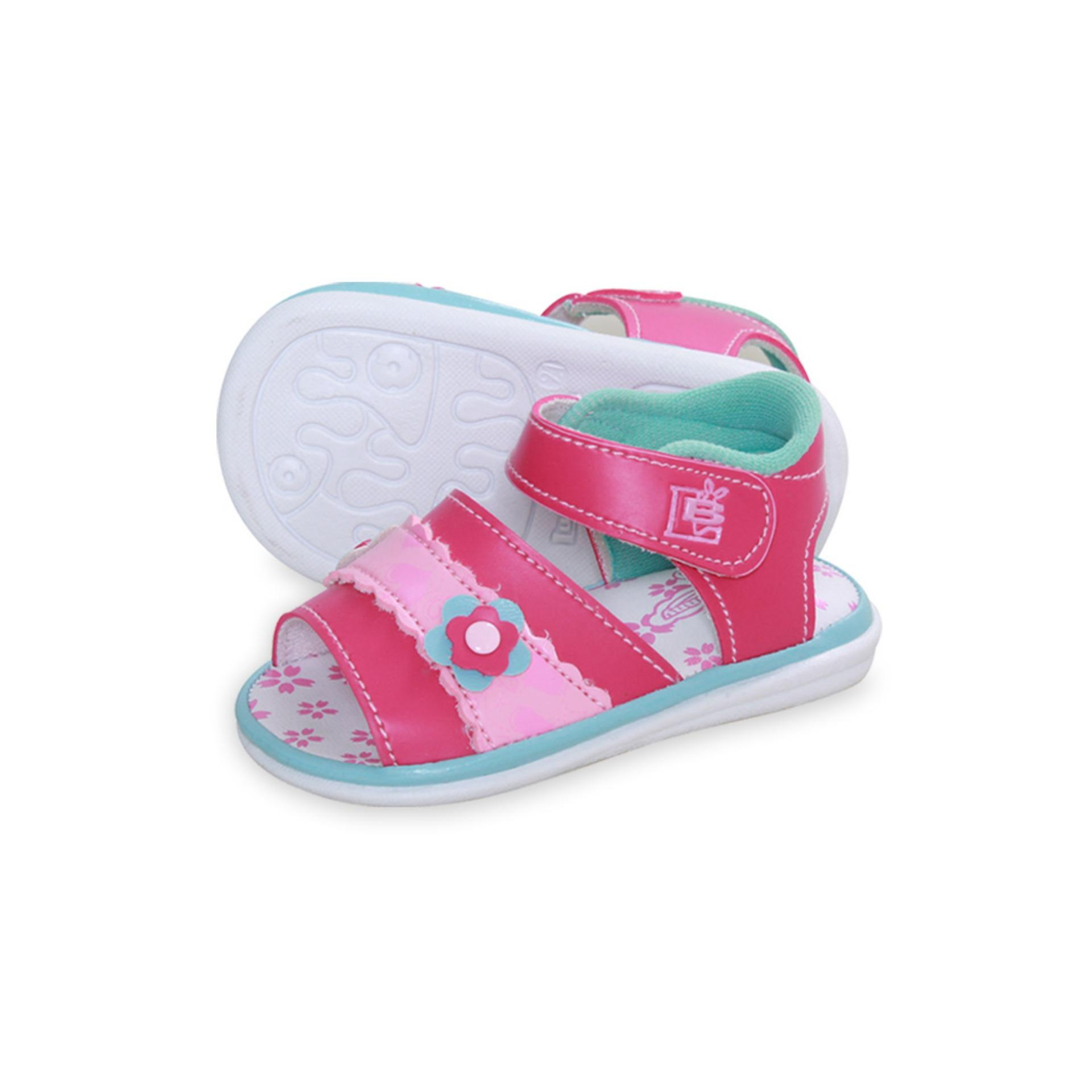 Lusty Bunny Baby Shoes Sepatu sandal bayi motive Flower Love