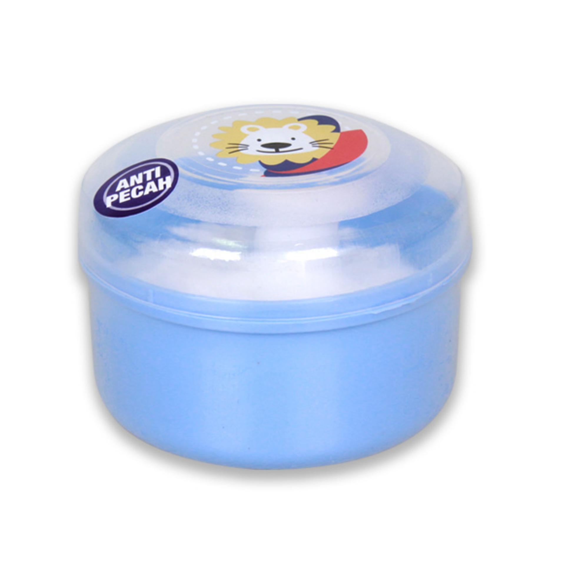 Lusty Bunny Baby Powder Case Pink Oval Tb 1530 Tempat Bedak Bayi Plus Soap Biru Muda Jual