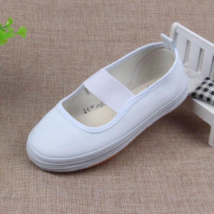 Lutai Putih Anak Perempuan Sepatu Sepatu Putih Sepatu Sepatu
