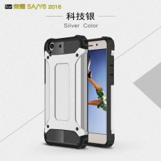 Luxury 2 in 1 Hybrid Durable Shield Armor Shockproof Hard Rugged Phone Case Cover For Huawei Honor 5A / Y6II Y6 2 / Holly 3 - intl