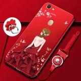 Jual Case Mewah 3D Motif Goddess Frame Berhiasi Rhinestone Back Cover Bahan Silikon Empuk Untuk Oppo F5 F5 Youth A73 6 Inchi Intl Online Tiongkok