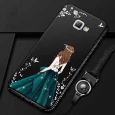 Luxury 3D Goddess Rhinestone Frame For Samsung Galaxy J7 Prime / On7(2016) 5.5