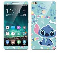 Luxury 3D Painting Front+Back Full Case Cover Color Tempered Glass Case For Xiaomi Mi Max 2 6.44″ inch Screen Protector Film (Multicolor-4) – intl