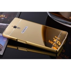 Luxury Anti-scratch Ultra Thin Mirror Metal Aluminum Frame Case For Oppo Find 7 (Color:c0) - intl