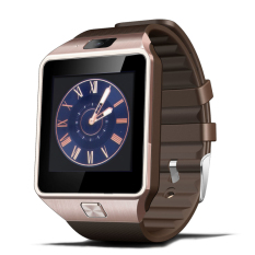 Luxury Bluetooth Smart Watch Jam Tangan Olahraga Layar Sentuh Untuk Android Telepon Seluler Golden Oem Murah Di Tiongkok