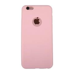 Luxury Candy Warna Silicon Cover Lembut Case Belakang Tipis untuk IPhone 6/6 S Naik Merah-Internasional
