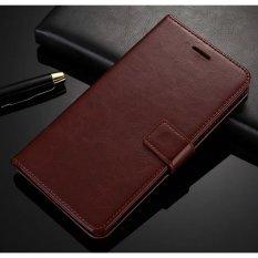 Luxury Dompet Kulit Lipat untuk ASUS Zenfone 3 ZE520KL 5.2