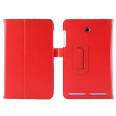 Luxury Folio Leather Case Stand Cover Fit for Acer Iconia Tab8 A1-840 RD - intl