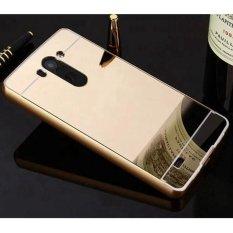 Cermin Mewah Aluminium Phone Case Slim Acrylic Back Armor Case untuk LG Vista VS880 Mirror Case Pelindung Telepon- INTL