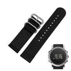 Beli Nylon Replacement Watch Wrist Band 3 Ring Lugs Untuk Suunto Core Bk Intl Oem